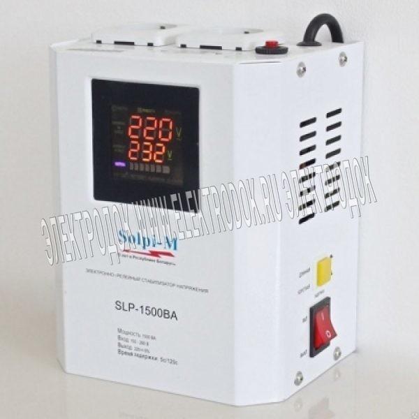Стабилизатор напряжения Solpi-M SLP-1500BA - Главное фото