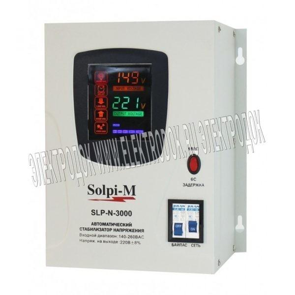 Стабилизатор напряжения Solpi-M SLP-N-3000BA - Главное фото