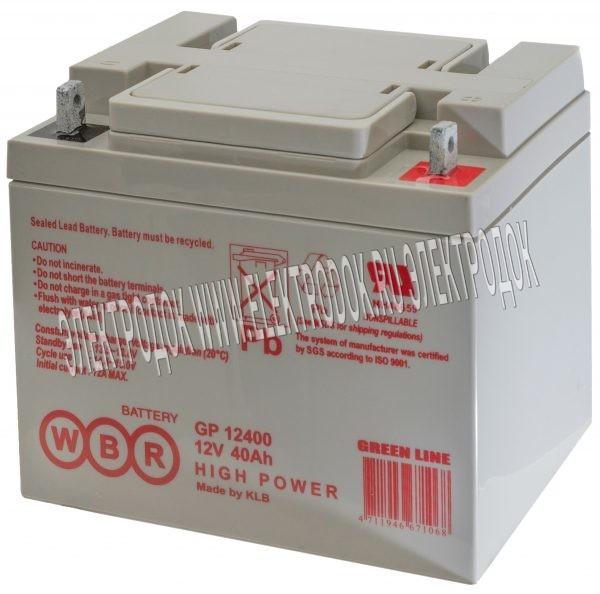 Аккумулятор WBR серии GP12400 - Главное фото