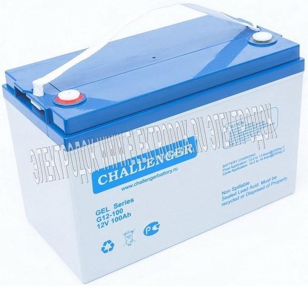 Аккумуляторная батарея CHALLENGER G12-100 - Главное фото
