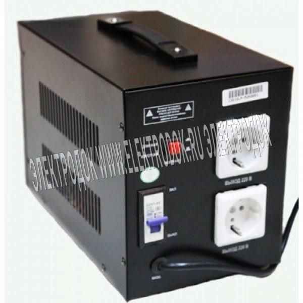 Стабилизатор напряжения Solpi-M SLP-M 1000ВА - Фото №2