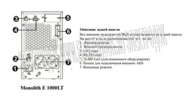 Monolith E1000LT - Фото №4